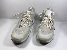 Nike Zoom Rev Men's Basketball Sneakers Shoes White Silver 852422 100 Sz 12