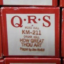 Qrs Kimball Electramatic Player Organ How Great Thou Art Nos Rare Km -211