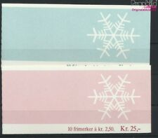 Norway 938MH-939MH 2 stamp booklet MNH 1985 christmas (9077249
