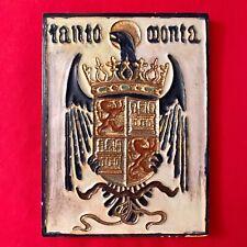 New listing Antique Daniel Zuloaga Original Ceramic Tile Signed 6�x 8� Spain Pottery zulaoga