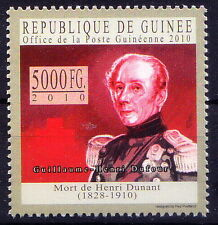 Guinee Rep. MNH, Guillaume-Henri Dufour,  Swiss army officer, Bridge Engi - Rs24