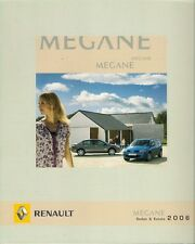 Renault Megane Sedan & Estate 2006 Greek Market Sales Brochure