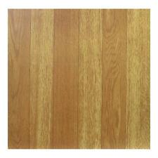 Floor Tiles Self Adhesive Vinyl Kitchen Bathroom Brown Beige Wood Grain