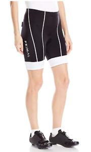 NWT Primal Wear Onyx Evo Avani Cycling Bike Shorts Women's Size XS Black White