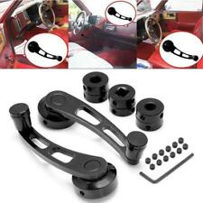1Pair Universal Car Billet Aluminum Window Crank Handle Winder Truck Pickup Door