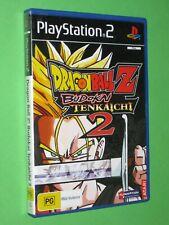 Dragon Ball Z Budokai Tenkaichi 2 - PlayStation 2 Game - Australian PAL Version
