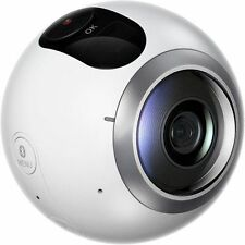 New Imported Samsung Gear 360 Degree Spherical Camera for Samsung Phones White