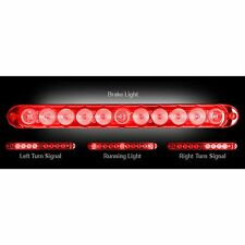 RECON 26418RD Mini 15-inch Red-Red Tailgate Light Bar LED