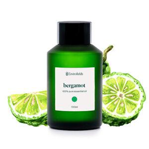 Bergamot Essential Oil 100ml   100% Pure Aromatherapy Grade   For Diffuser