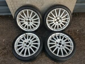 """FORD FIESTA MK6.5 17"""" ALLOY WHEELS AND TYRES 205/40/17 2007"""
