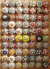 Möbelknöpfe knöpf Moebel knauf Schubladen Shabby Keramik Vintage Chic Griffe