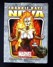Bowen Nova Frankie Raye Gold Chrome Marvel Bust Statue 2006
