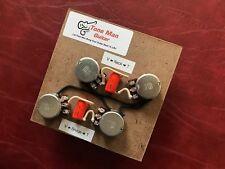 Guitar Prewired Wiring Kit Gibson Les Paul Long Shaft Pots Orange Drop Caps