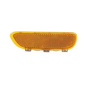 Front BMW E46 323Ci 325Ci 330Ci Yellow Reflector For Bumper Cover 63148383012