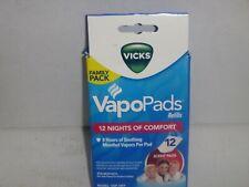 Vicks VapoPads Refill Pads VSP-19 Menthol Vapor 12 Count