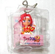 """Sakura Wars 2 Keychain 1998 Sega 3"""" Figure Mint Kanna Japanese Anime NOS New"""