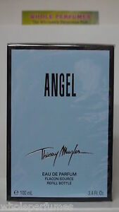 ANGEL THIERRY MUGLER REFILL BOTTLE WOMEN 3.3/ 3.4 OZ/100 ML EAU DE PARFUM SPLASH