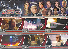 BATTLESTAR GALACTICA THE COMPLETE 2003 RITTENHOUSE BASE CARD SET OF 72 TV