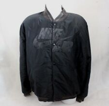 *L* Nike Air '72 Men's Black Baseball Jacket