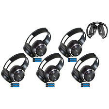 5 Fold In Wireless Infrared DVD Rear Headphones Headset Jeep Chrysler IR-2008B