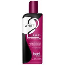 Devoted Creations White 2 Black Pure Pomegranate Sunbed TANNING Lotion 260ml