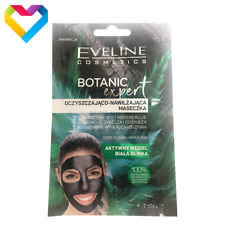 Eveline Cosmetics Botanic Expert Moisturising Face Mask Dry Sensitive Skin 2x5ml