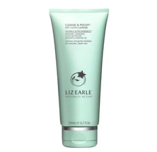 Liz Earle Cleanse & Polish Hot Cloth Cleanser 200ml with 2x Pure Cotton Cloths