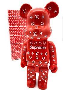 Bearbrick Medicom , Be@rbrick 400% Louis Vuitton x Supreme, réplique