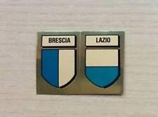 FIGURINE LAMPO / FLASH - CALCIO FLASH '82 - SCUDETTI:  BRESCIA / LAZIO - NEW