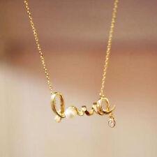 Cartas De Amor Colgante Collar