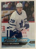 2016-17 William Nylander Upper Deck Young Guns Rookie Toronto Maple Leafs #249