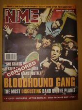 NME 2000 AUG 5 BLOODHOUND GANG WYCLEF FAITHLESS OASIS