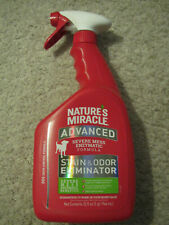 Nature's Miracle Advanced Stain and Odor Eliminator Dog, for Severe Messes