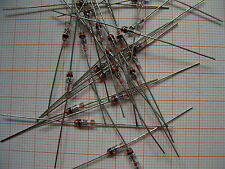 25x GA101 Germaniumdiode axial Glasgehäuse RFT GDR DDR GA-101