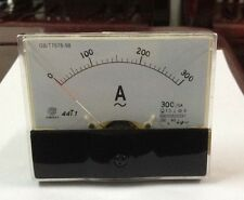 Rectangle Analog AMP Meter AC 300A Current Transformer [DORL_A]