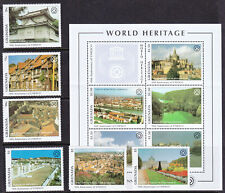 Grenada  Anniv UNESCO set and mini sheet MNH