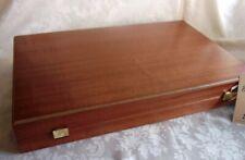 Luxus Mahagoni Backgammon XL mit Perlmutt Spielsteinen Manopoulos Handarbeit