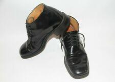 Loake Black Wide boy Black leather shoes 8UK EUC