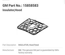 2004-2007 Cadillac CTS Genuine GM Under Hood Insulator Pad Liner 15858583 NEW