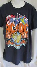AC/DC Concert T Shirt 1996 Ballbreaker World Tour Blue L Graphics NWT! Lot #3