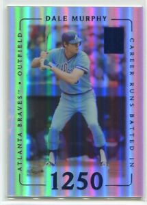 2002 Topps Tribute First Impressions 50 Dale Murphy 44/76