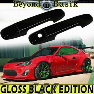 For Scion FRS Subaru BRZ Toyota 86 GLOSS BLACK Door Handle Covers No SMKH No PSK
