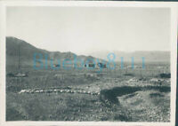 WW2 1941 15th Punjab Regiment View From East Camp Quetta India