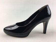 Paul Green Ceylon Platform Heel Pumps Women's Sz AU 3, Black Patent Leather 3333