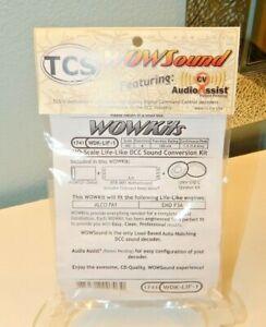 TCS #1741 WDK-LIF-1 WOWKit HO Scale Proto-2000 FA1 Diesel DCC/Sound Decoder NEW