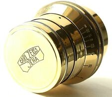 SONNAR Carl Zeiss Jena Gold 2.8/ 52mm M39 Lens Germany for Leica