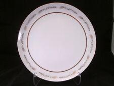 "Grano by Empress China Japan 12-1/4"" Round Platter Wheat Design Gold Trim 1813"
