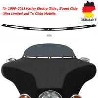 Slotted Windschutzscheibe Windschild Trim Für Harley Touring Electra Glide 96-13