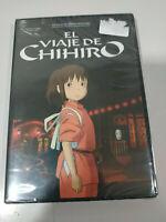 El Viaje de Chihiro Hayao Miyazaki Studio Ghibli - DVD + Extras Nuevo 5T