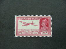 India KGVI 1937 12a lake SG258 LMM